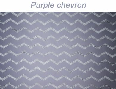 10 Purple Chevron